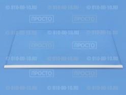 Полка стеклянная над овощными ящиками Аристон, Индезит, Стинол C00263217