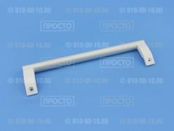 Ручка серая  с белым для холодильников Bosch, Siemens (646417)