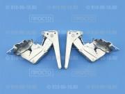 Комплект петель для встроенного холодильника Miele, Siemens, Bosch, Neff, Gaggenau (12004051)