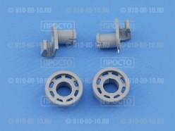 Комплект из 2-х роликов посудомоечной машины Bosch, Siemens, Gaggenau, Neff (424717)