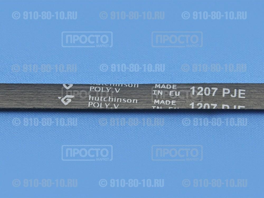 Ремень для стиральныхмашин1207 J4 EL Hutchinson Ariston, Indesit, Whirlpool (C00311692)
