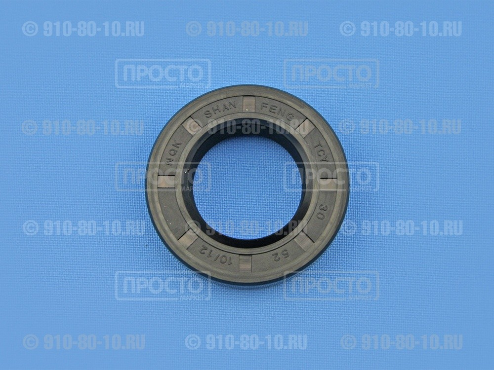 Сальник 30*52*10/12 NQK.SF  для стиральных машин Zanussi, Bosch, Siemens, Electrolux (417478)