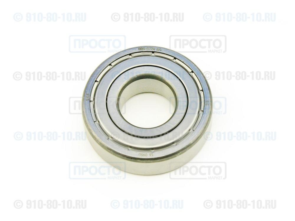 Подшипник 204 (6204 ZZ) стиральной машины Ardo, Candy, Ariston, Indesit, Whirlpool (49028765)