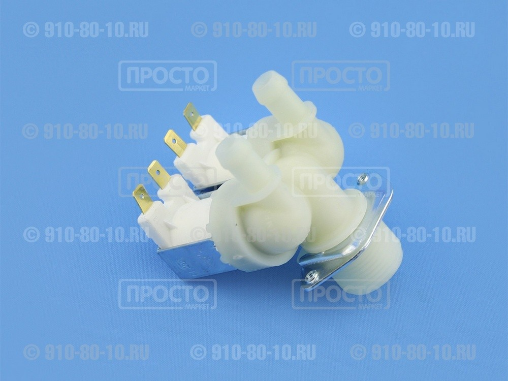 Клапан подачи воды (КЭН) стиральной машины Whirlpool (481981729331)