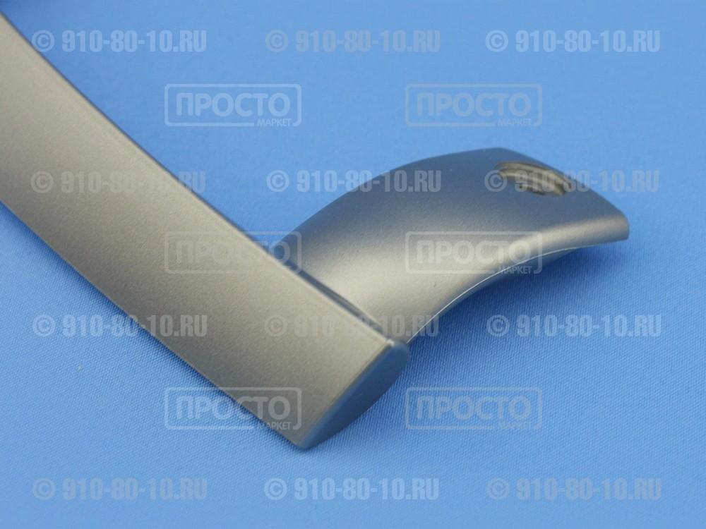 Ручка нижняя серая к холодильникам Gorenje, Hisense, Asko (662417, 315190)