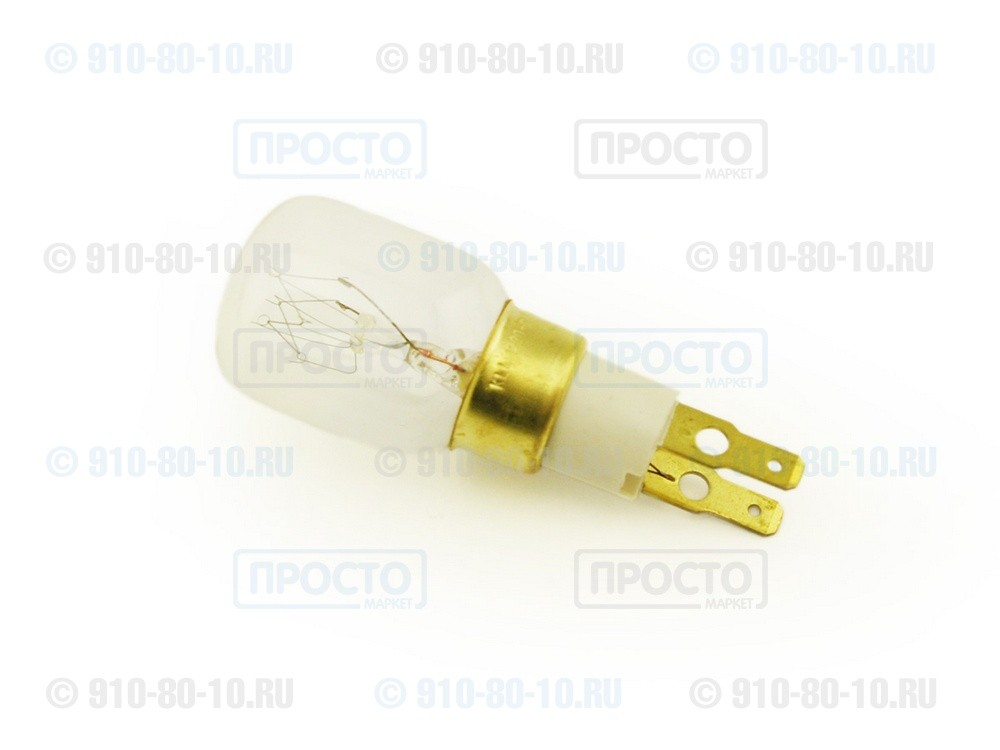 Лампа для холодильника 15W T25 к холодильникам Whirlpool, Bauknecht, IKEA