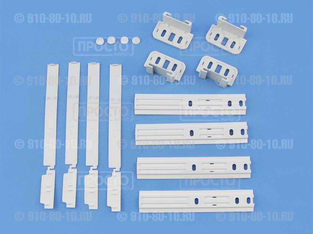 Комплект навеса фасадов к встроенным холодильникам  Ariston, Whirlpool, BAUKNECHT, IKEA,SMEG (481231028208)