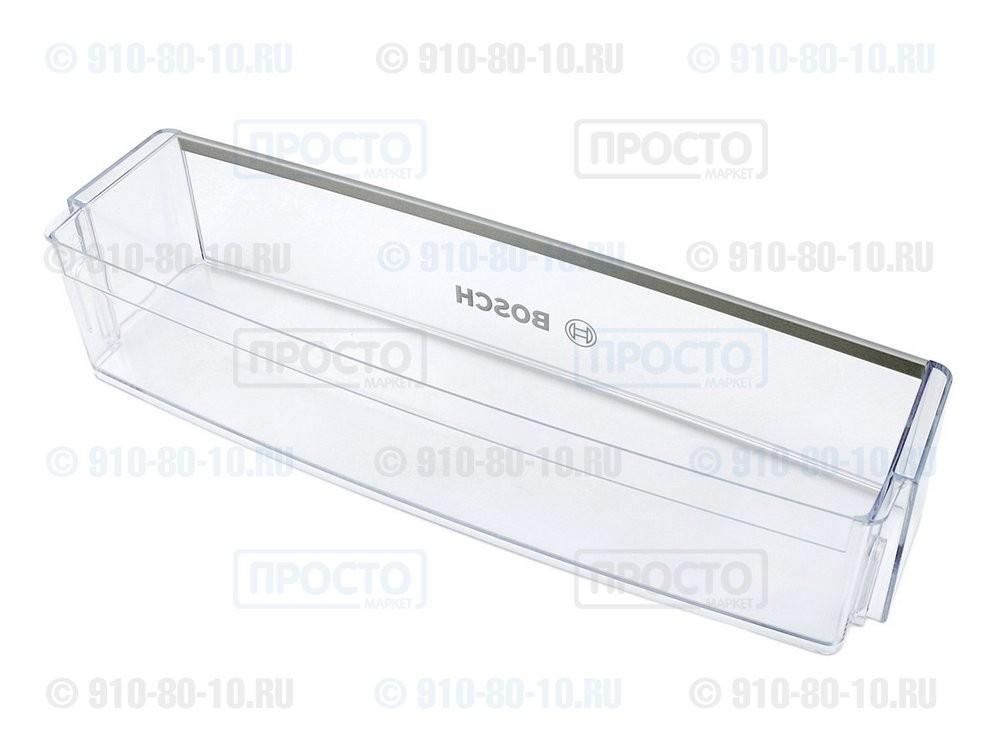 Балкон нижний прозрачный к холодильнику Bosch, Siemens (674382)