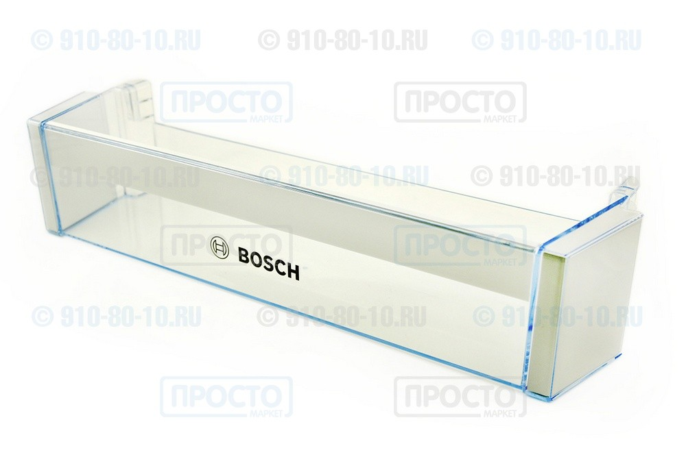 Балкон нижний прозрачный к холодильнику Bosch, Siemens (704406)