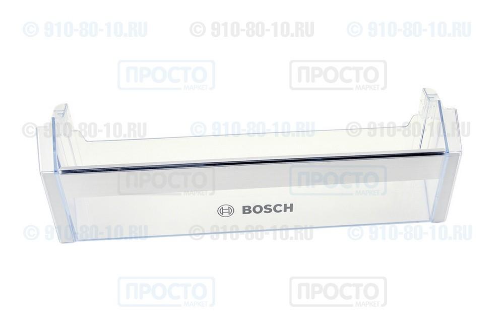 Балкон нижний прозрачный к холодильнику Bosch, Siemens, Neff (743239)
