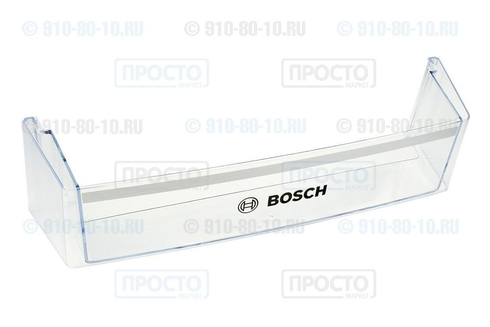Балкон нижний прозрачный к холодильнику Bosch (11002391)