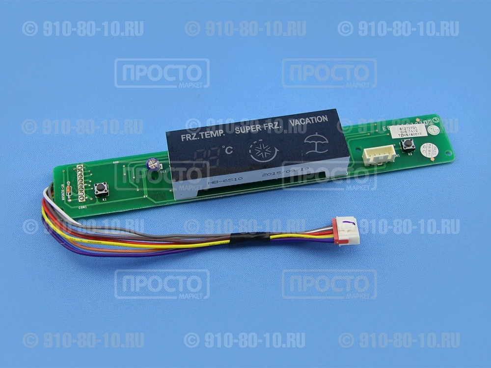 Модуль (плата) индикации для холодильника LG (EBR61272701)