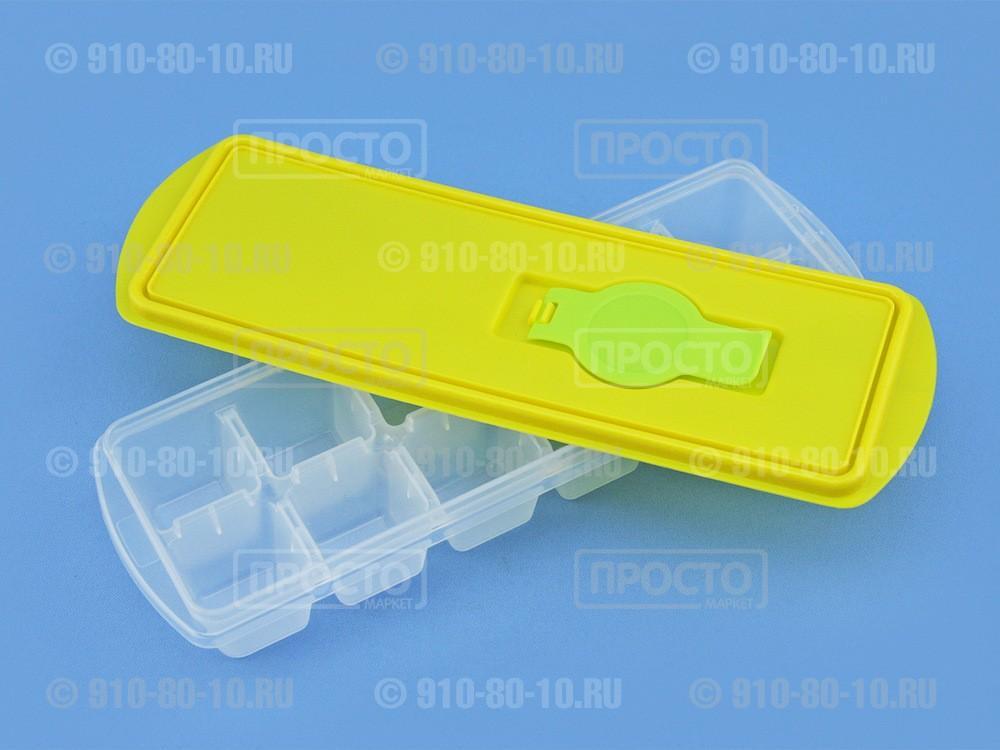 Форма для льдас крышкой и клапаном // практичный аксессуар для холодильника