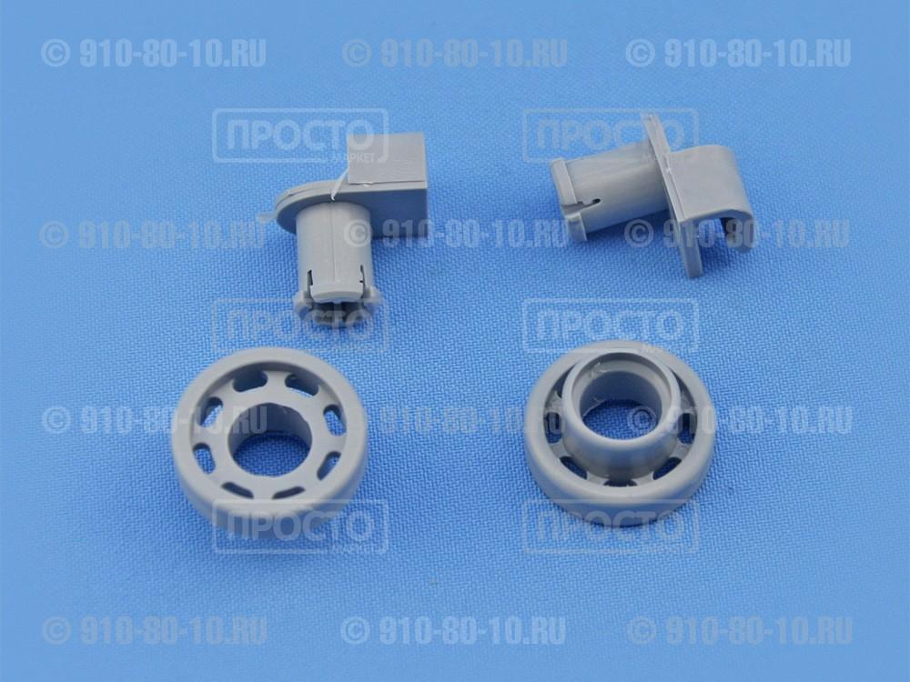 Комплект из 2-х роликов посудомоечной машины Bosch, Siemens, Gaggenau, Neff (424717) Bauknecht,Whirlpool,GE,Hotpoint,Kuppersbusch,Smeg