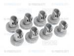 Комплект из 8-ми роликов посудомоечной машины Electrolux, AEG, Zanussi, Kuppersbusch (50286967000)